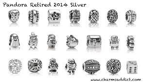 cheap all retired pandora charms