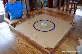 diy indoor games home makerspace a diy carrom or marbles game board woodshopcowboy