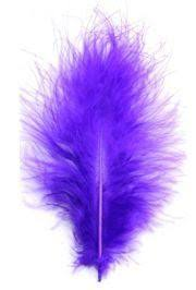 mardi gras feathers 3in 7in purple feathers for crafts