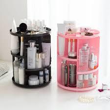 mettre sur le bureau rotation cosmétiques plateau coiffeuse boîte de rangement de bureau