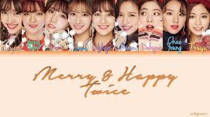 트와이스 merry and happy color coded lyrics han rom eng