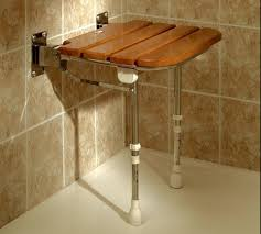 ensure safety and comfort in a space saving fold up shower seat
