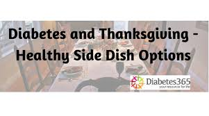 diabetes and thanksgiving healthy side dish options
