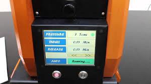 spex sampleprep 3635 115 xpress programmable laboratory press test