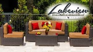 Lakeview Patio Furniture by Avery Island Resin Wicker Rectangular Patio Coffee Table By
