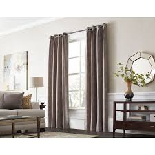 Curtains 95 Shop Allen Roth Winbourne 95 In Sand Polyester Grommet Room