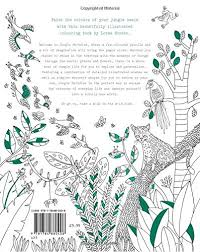 jungle paradise coloring adventure wild lorna scobie