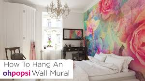 how to hang an ohpopsi wall mural youtube how to hang an ohpopsi wall mural