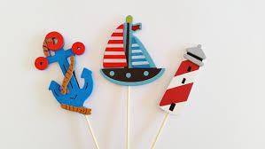 nautical cake toppers nautical cake toppers cake decorations ahoy