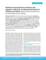 How To Prepare Resume For Job Training The Health Care Workforce To Improve Cognitive Affective