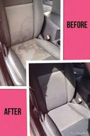 Learn How To Do Car Upholstery Clean Water Spots And Stains From Your Cloth Car Seats Just Add