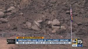 Arizona Firefighters Killed Video by Firefighters Give Tour Of Yarnell Hill Fire Site Youtube