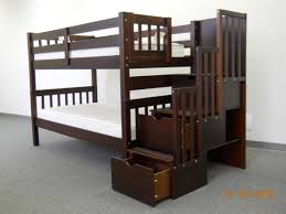 Top Bunk Bed Only Save Big On Stairway Bunk Bed Brown