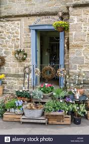 florist shops florist shop in building stock photos florist shop in