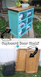 easy diy cabinet doors 30 creative and easy diy furniture hacks door shelves cupboard