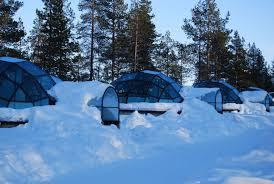 a kakslauttanen glass igloo in finnish lapland youtube