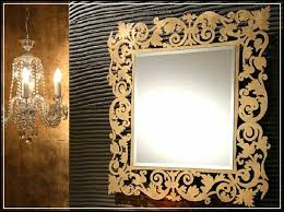 magnificent shapes of decorative bathroom mirrors for guest