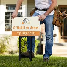 custom yard lawn signs vistaprint yard signs