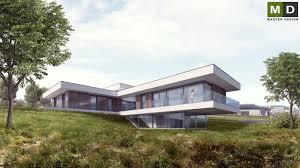 luxury low energy bungalow on a gentle slope klimkovice master