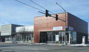 modern restaurant exterior