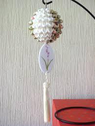 handcraftku tsumami zaiku kusudama flower ball oriental home decor
