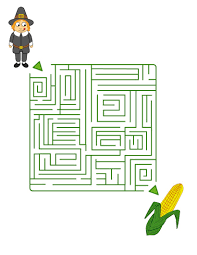 thanksgiving games printable pilgrim scouts for corn cobs online games hellokids com