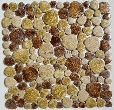 Popular Pebble TileBuy Cheap Pebble Tile Lots From China Pebble - Pebble backsplash