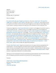 eagle scout recommendation letter sample eagle scout letters of