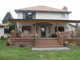 Backyard Porches Patios by Porch Ideas Diy Back Yard Transformation Pergola Deck U Fire Pit