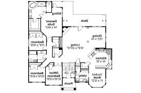 european house plan pennington 30 602 main floor plan european