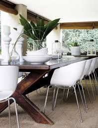 Dining Room Wood Tables by Best 25 White Wood Table Ideas On Pinterest Scandinavian Home