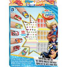 dc super hero girls super nail art kit walmart com