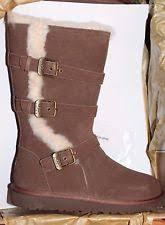 womens ugg australia maddi boots ugg australia k maddi 1001520k chocolate brown suede