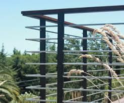 deck rail modern deck railing systems