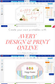 Design Your Own Cards Online Create Your Own Gift Tags Cards And More Using Avery Design
