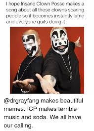 Insane Clown Posse Memes - i hope insane clown posse makes a song about all these clowns