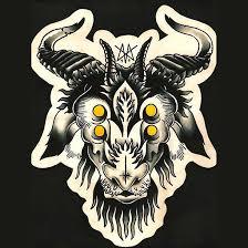 13 goat tattoo designs