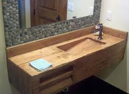 bathroom awesome natural design with full size bathroom interesting wooden sink double natural touch corner the from bathrooms