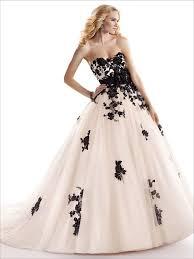 Black And White Wedding Dress Cosette Wedding Dress Maggie Sottero