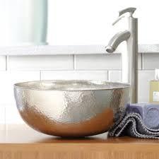 bathroom home depot bowl sink bathroom vessel sinks glass