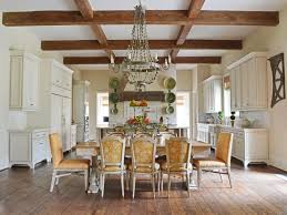 French Country Dining Room Decor Rustic French Country Dining Room Black Wood Upholstered Chairs