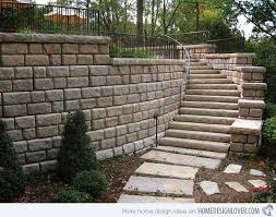 Retaining Wall Stairs Design 15 Concrete Exterior Staircase Design Concrete Staircases And