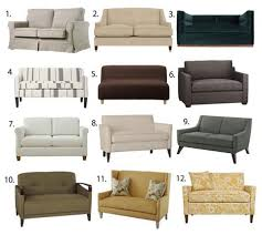 apartment size sofas and loveseats small space seating sofas u0026 loveseats under 60 inches wide