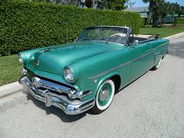 ford convertible 1954 ford crestline sunliner convertible for sale