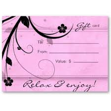 spa gift cards spa gift certificates in scottsdale new serenity day spa