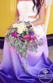 amazing ombre wedding dress purple ombre dress ombre wedding