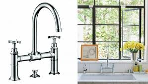 bridge faucets for kitchen awesome 10 easy pieces architects go to traditional kitchen