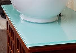 Glass Vanity Tops Home Improvement Glass Countertops