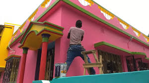 raju mandal paint a house char kadir pur asian paints youtube