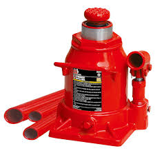 Jack Stands Lowes by Big Red 20 Ton Low Profile Bottle Jack T92007a The Home Depot